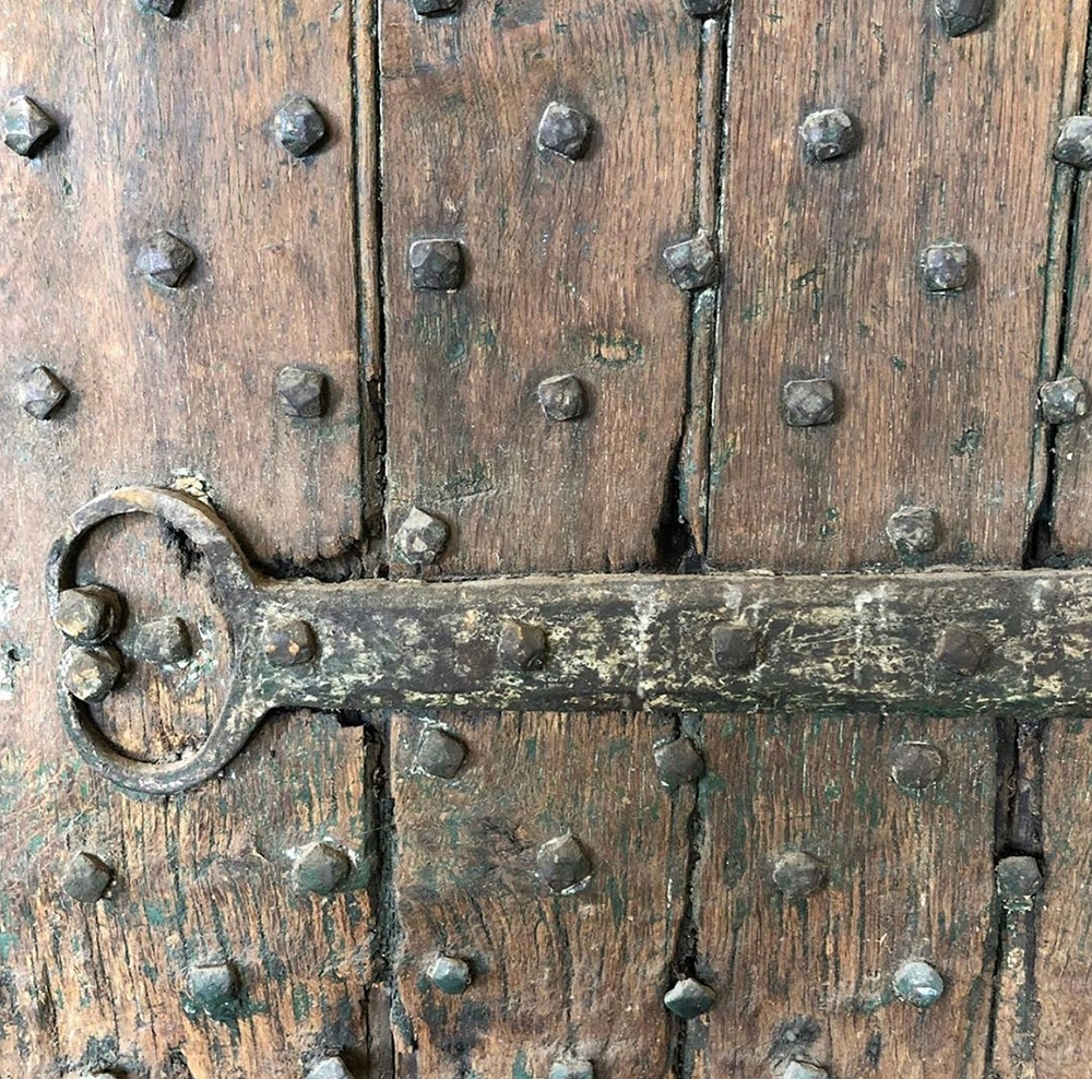 17th Century English Studded Door